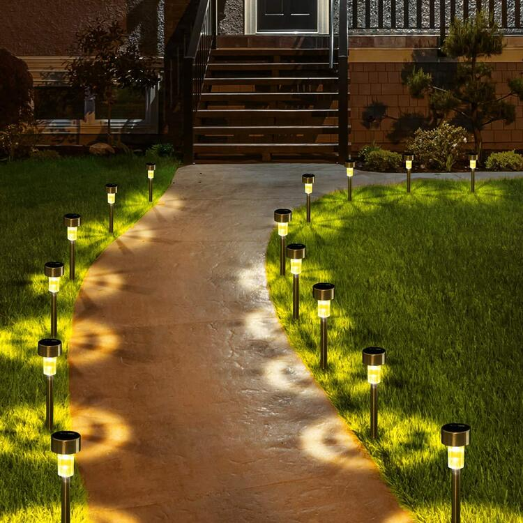 50% OFF--Stainless steel solar lawn light
