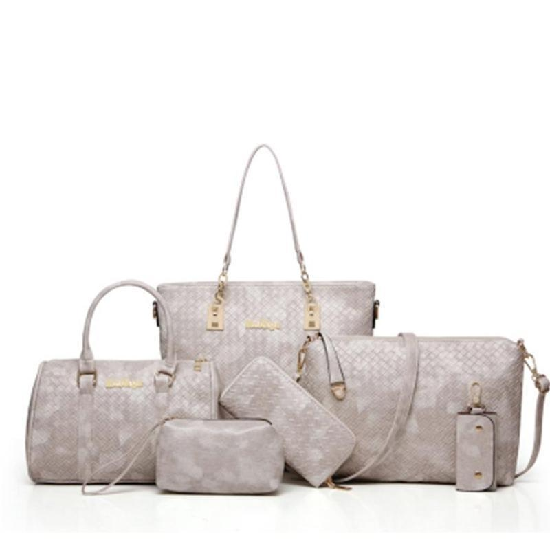 French six-piece set of bags