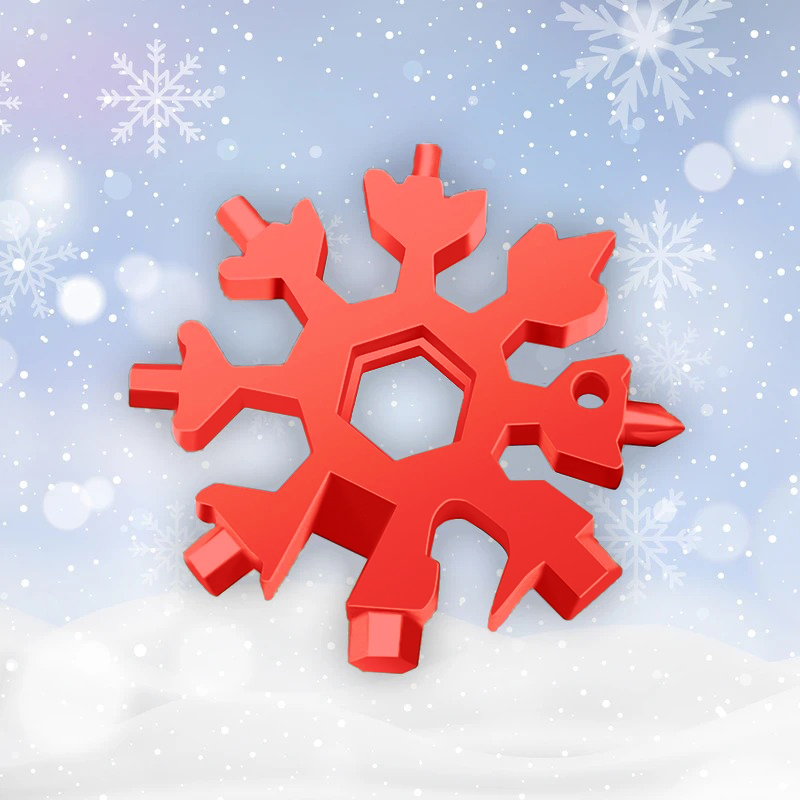 (Early Father's Day Promotions-50% OFF)  18-in-1 Snowflake Multi-tool & Buy 4 Get Extra 20% OFF