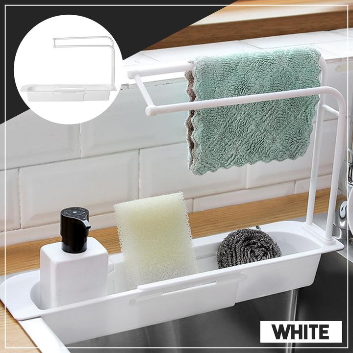 💥Spring Hot Sale 50% OFF💥Telescopic Sink Storage Rack & Buy 2 Free Shipping