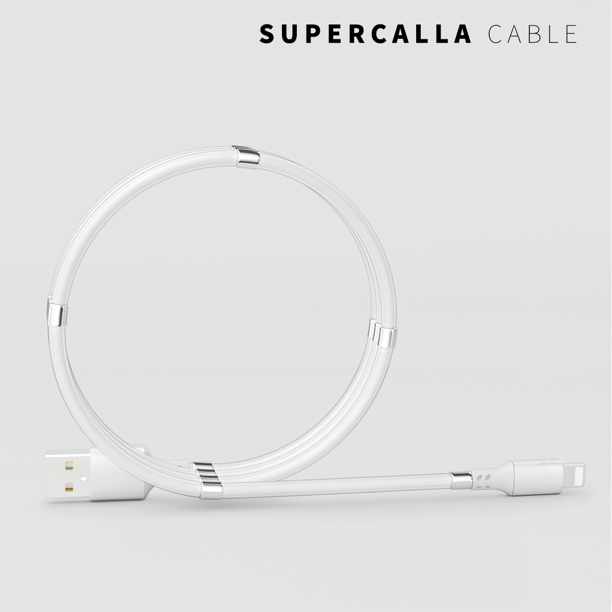 ⚡Supercalla magnetic fast charging cable🔥