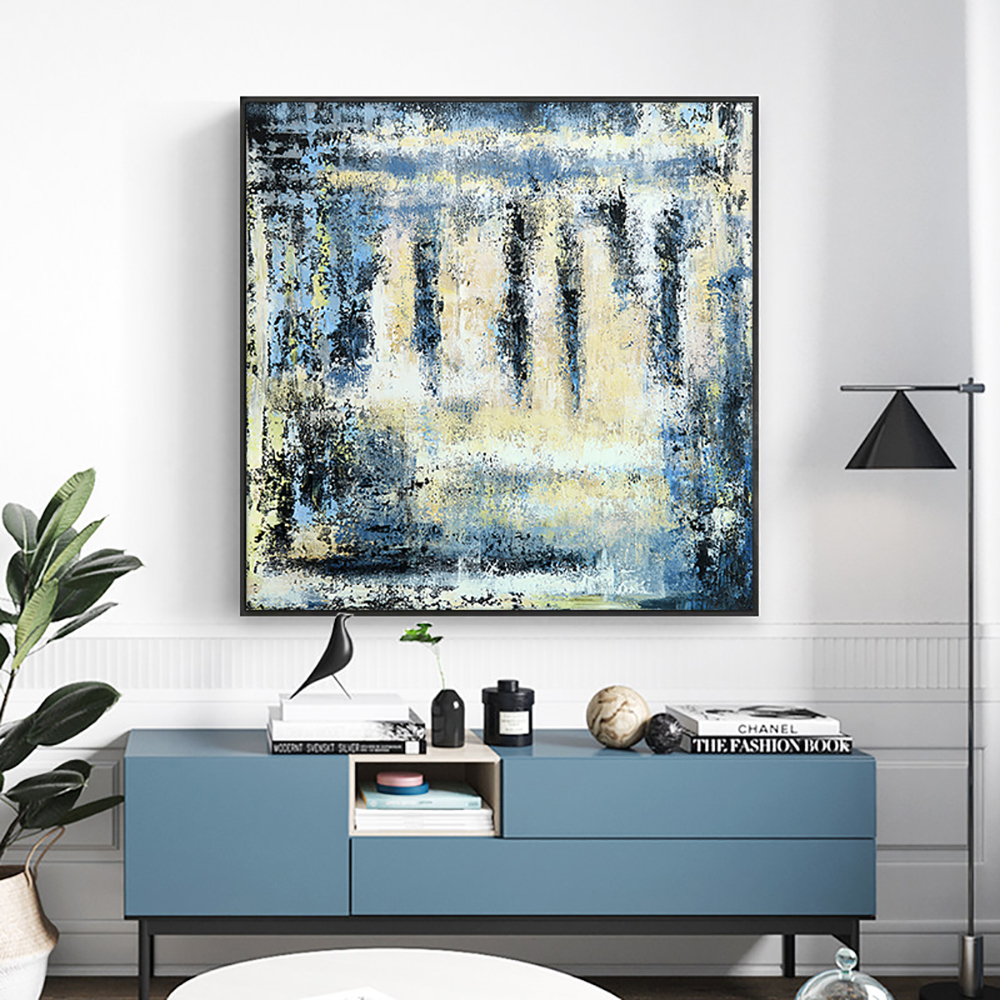 Abstract Landscape Painting Handmade Oil Painting On Canvas Modern Canvas Knife Landscape Paintings Wall Art For Home Decoration