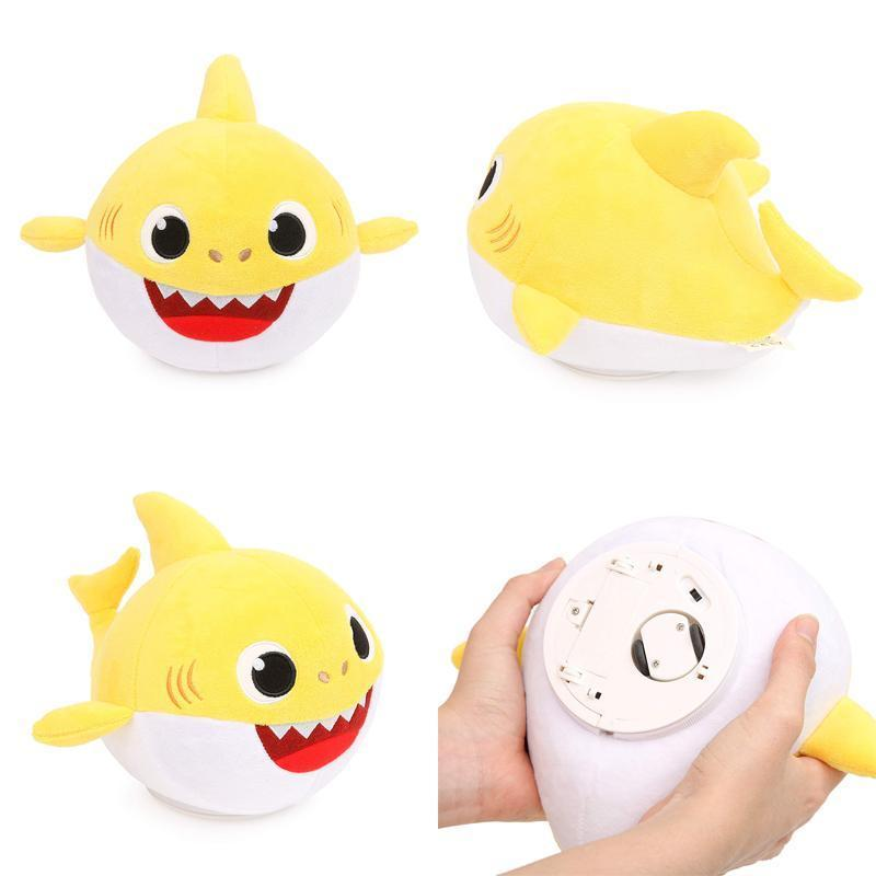 Higomore™ Baby Shark Singing Dancing Doll Stuffed Plush Toy - Perfect Gift for Kids