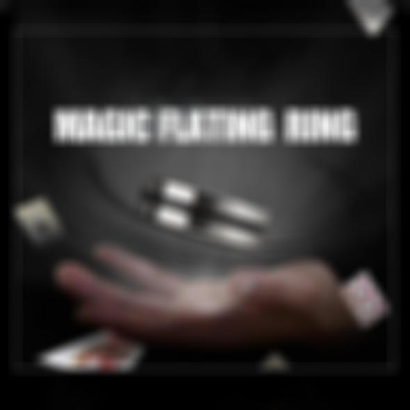 Magic Props Floating Ring Magic Trick-BUY 1 & GET 1 FREE TODAY!