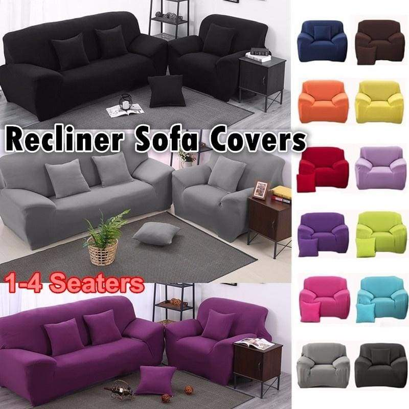4 Seaters Recliner Sofa Covers