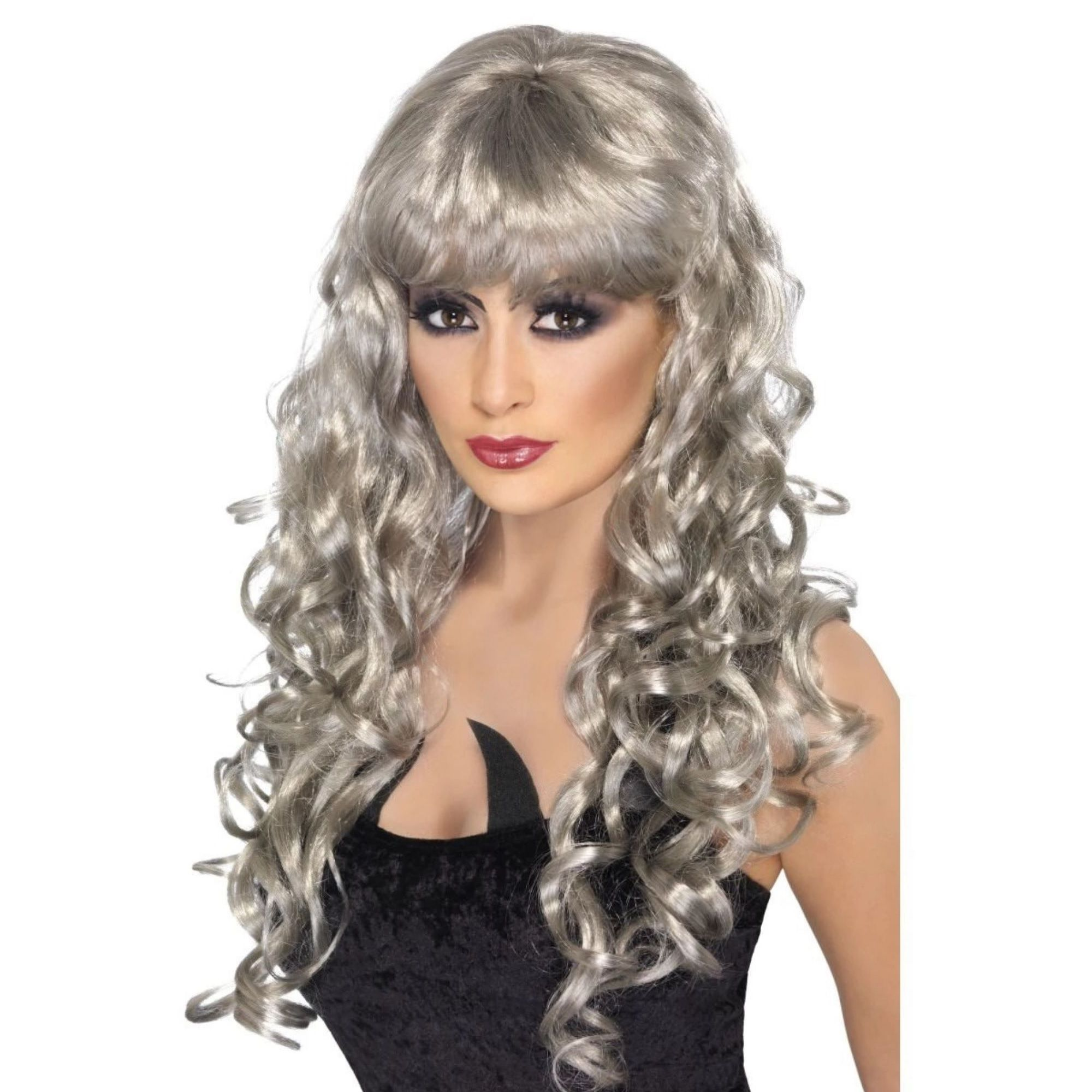 Lace Frontal Wigs For Women Gray Wigs Straight Bundles With Closure Real Hair Topper