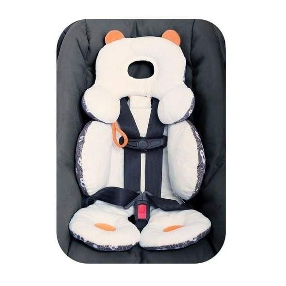 Baby Stroller Car Seat Cover Head and Body Support Pillow Cushion Padding Mat Liner
