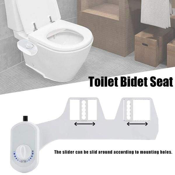 Adjustable Non Electric Mechanical Bidet Fresh Water Toilet Seat Attac Nicerin Best Goods Free Shipping