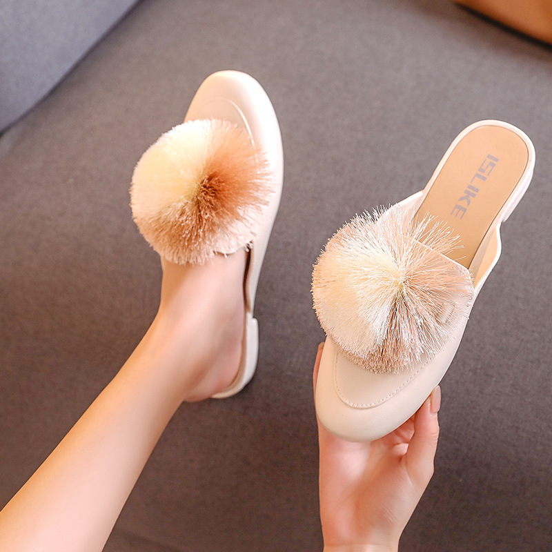 Fashion Ladies Flat Lazy Slippers