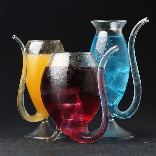 Resistant Glass Cup With Straw (Buy 4 Free Shipping)