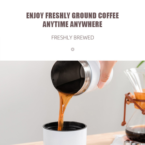 (Free Shipping) 4 IN 1 Portable Hand Bean Mill Professional Manual Coffee Grinder(FREE 227 g coffee beans)