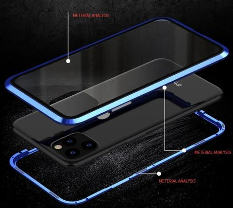 MAGNETIC ADSORPTION TWO SIDE TEMPERED GLASS CASE FOR IPHONE