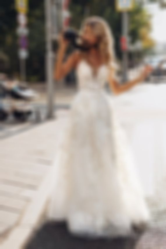 2020 New Wedding Dress Fashion Dress sexy mother of the bride dress all white semi formal outfits