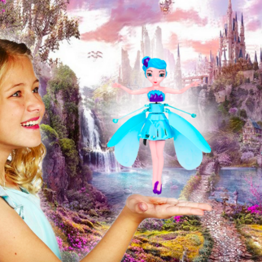 Last Day Promotion 50% OFF-🧚♀MAGIC FLYING FAIRY PRINCESS DOLL