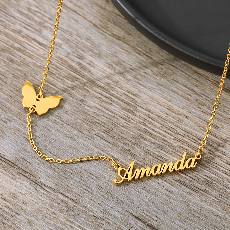 Luxury Customized Butterfly Necklace