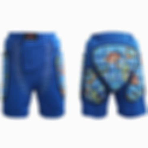 SKRTEN Children's Anti-fall Pants Skating / Ski Diaper Safety Protection - Sky Blue XXS