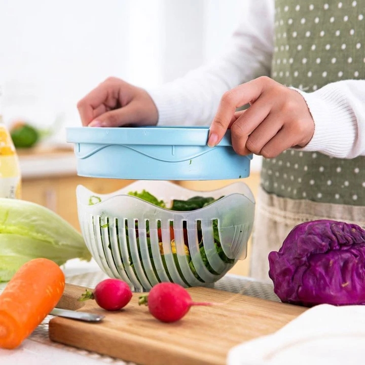 AHOME7 The Cutter Bowl - Quick Easy Salad