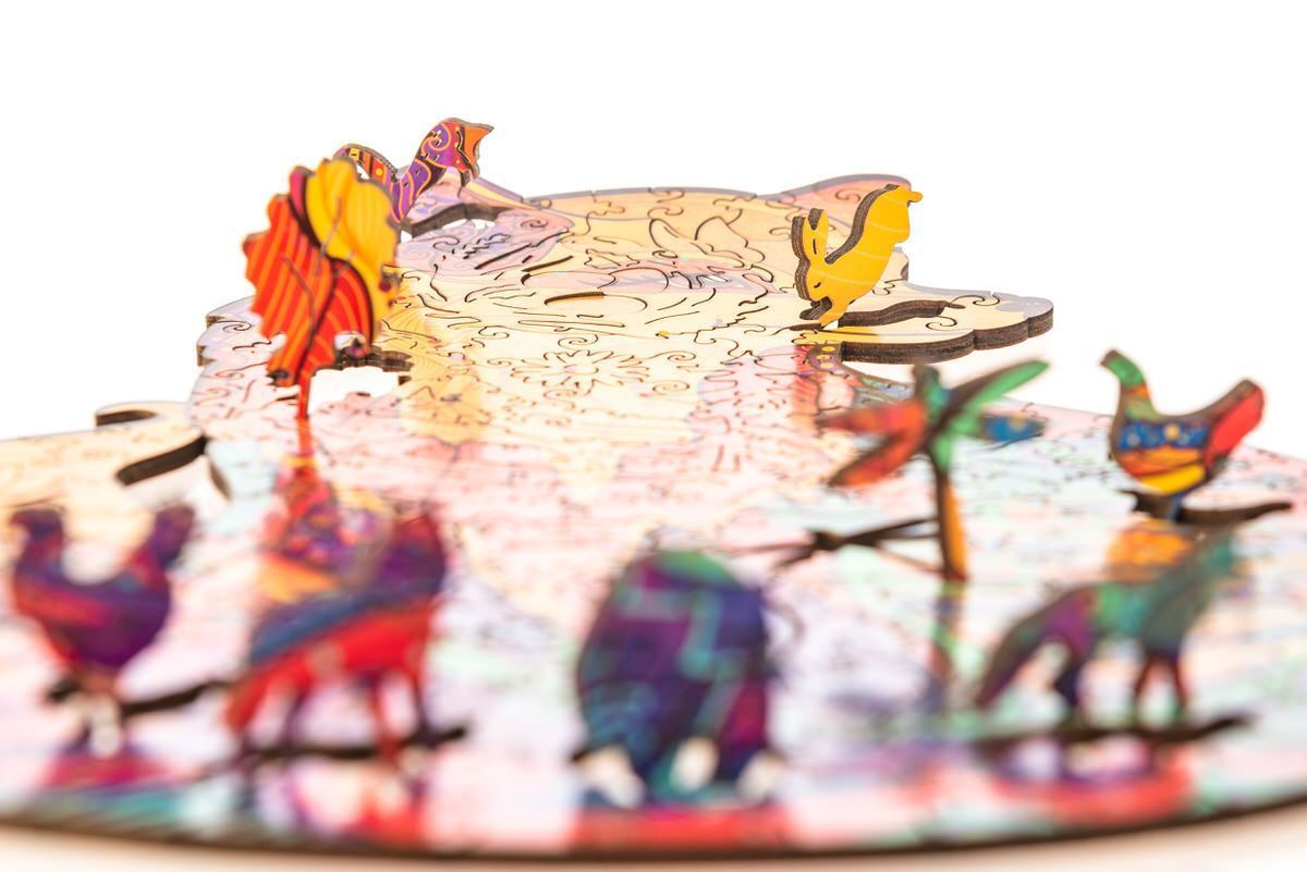Wooden Jigsaw Puzzle Alluring Fox-50% off