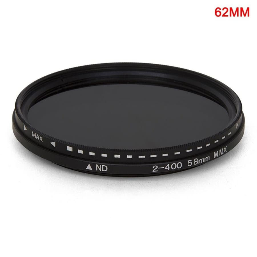Fader Variable ND Filter Adjustable ND2 to ND400 Neutral Density for Camera Lens