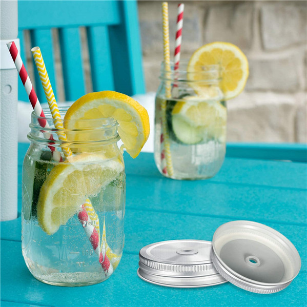 Mason Straw Lid - Polished Stainless Steel Buy More Save More