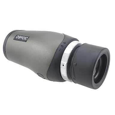 30 X 60 mm Monocular Porro Professional, Compact Size, High Quality Hunting, Climbing, Camping / Hiking / Caving Rubber Aluminium Alloy / Yes