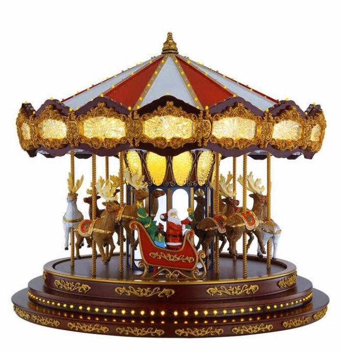 🎁Only $29.99 Buy 1 Get 1 Free🎁Deluxe Musical Carousel Christmas Decorations
