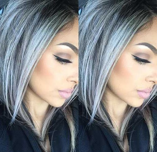 2020 New Gray Hair Wigs For African American Women Paula Jones Wigs Gray Hair Color For Morena Kylie Jenner Wigs Ash Grey Hair Color Men 80S Mullet Wig