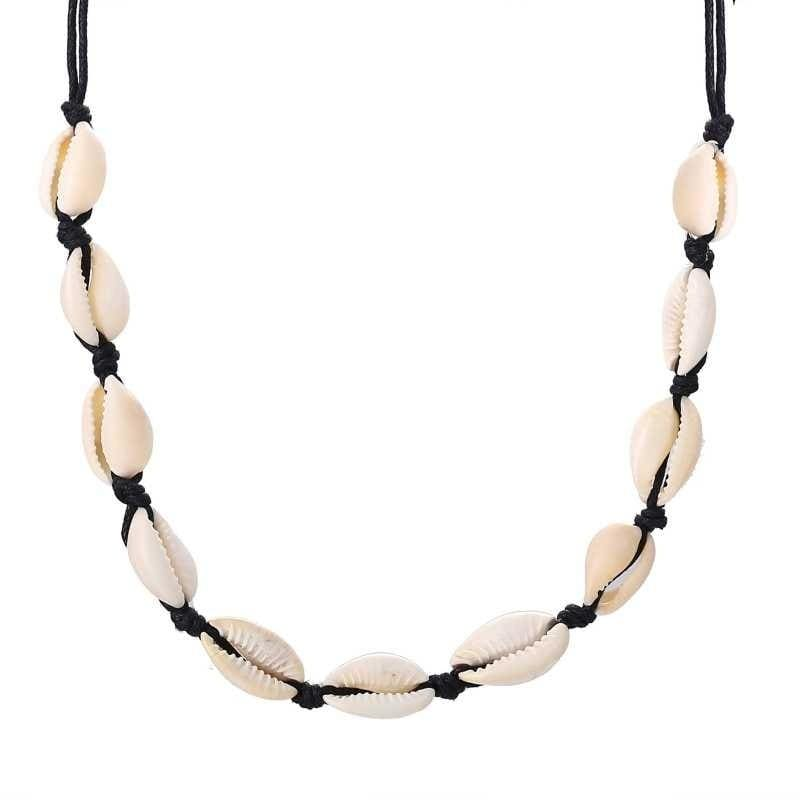 2 Colors New Fashion Personality Casual Accessories Handmade Hawaiian Style Shell Short Clavicle Necklace