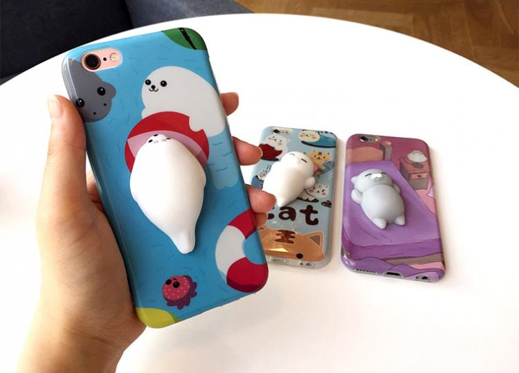 Soft Squishy Cats iPhone Cases