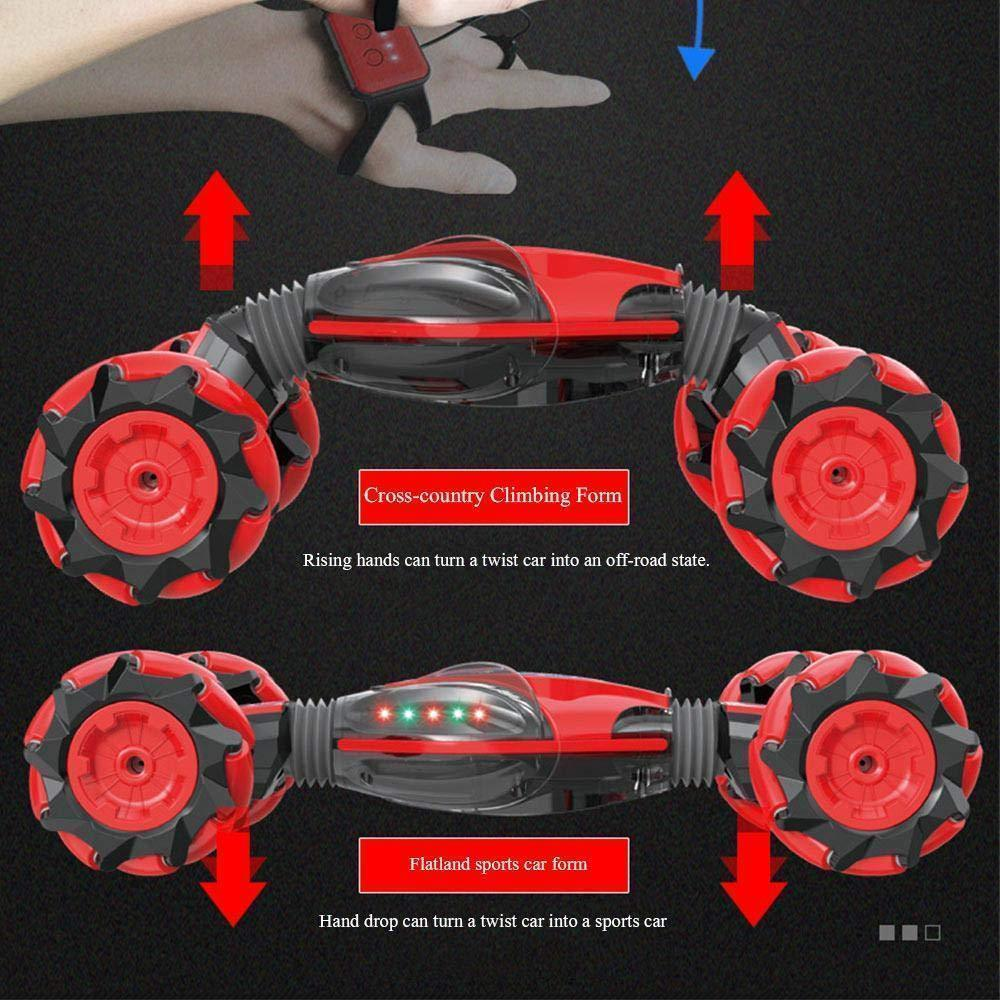 GESTURE CONTROL - DOUBLE-SIDED STUNT CAR(FREE SHIPPING)