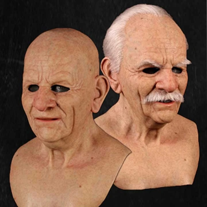 【Buy Two Free Shipping】Halloween Silicone Mask