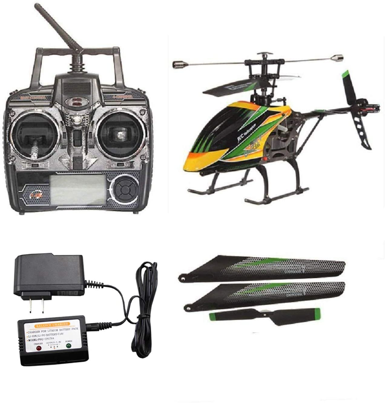 NiGHT LiONS TECH WL Large RC Helicopter With Gyro