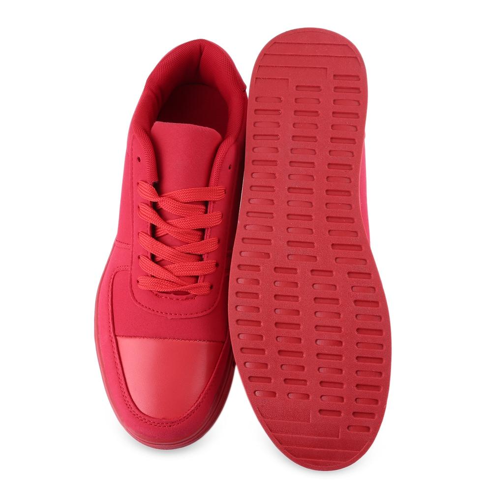 Breathable Patchwork Design Lace Up Casual Shoes for Men