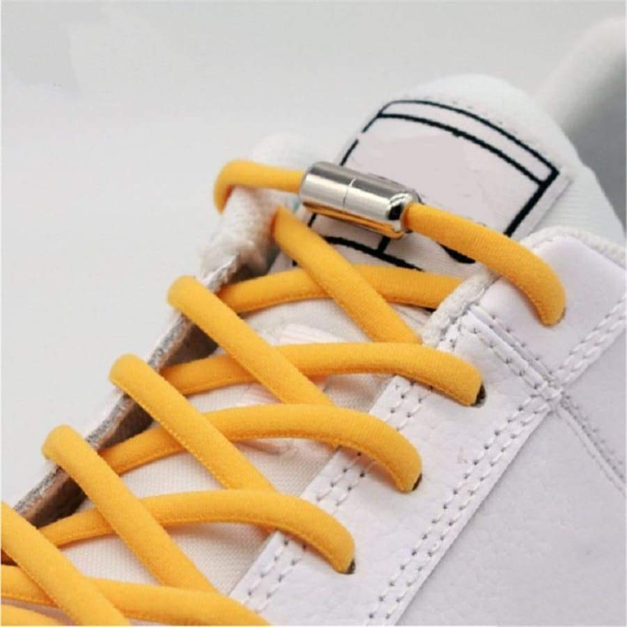 Sports Kids Adult Metal Tip Fast Lacing Elastic Shoe Laces Quick Lazy Laces No Tie Shoelaces Sneakers Shoelace
