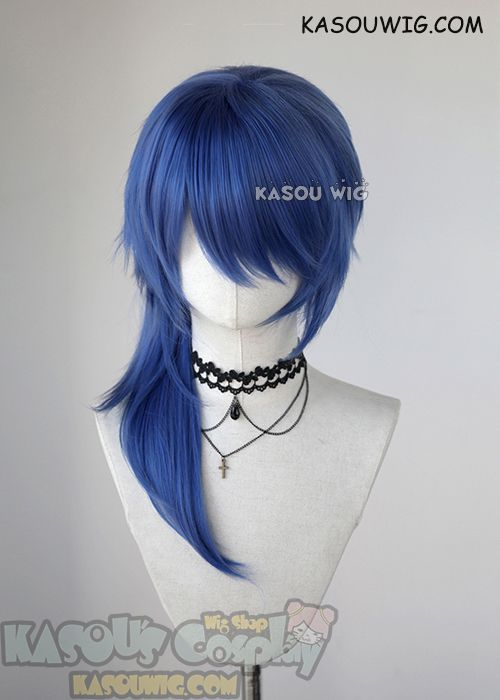 Blue Wigs Lace Frontal Wigs Cheap Human Wigs Aqua Blue Hair Color Red Haired Blue Eyes Blue And Purple Split Hair