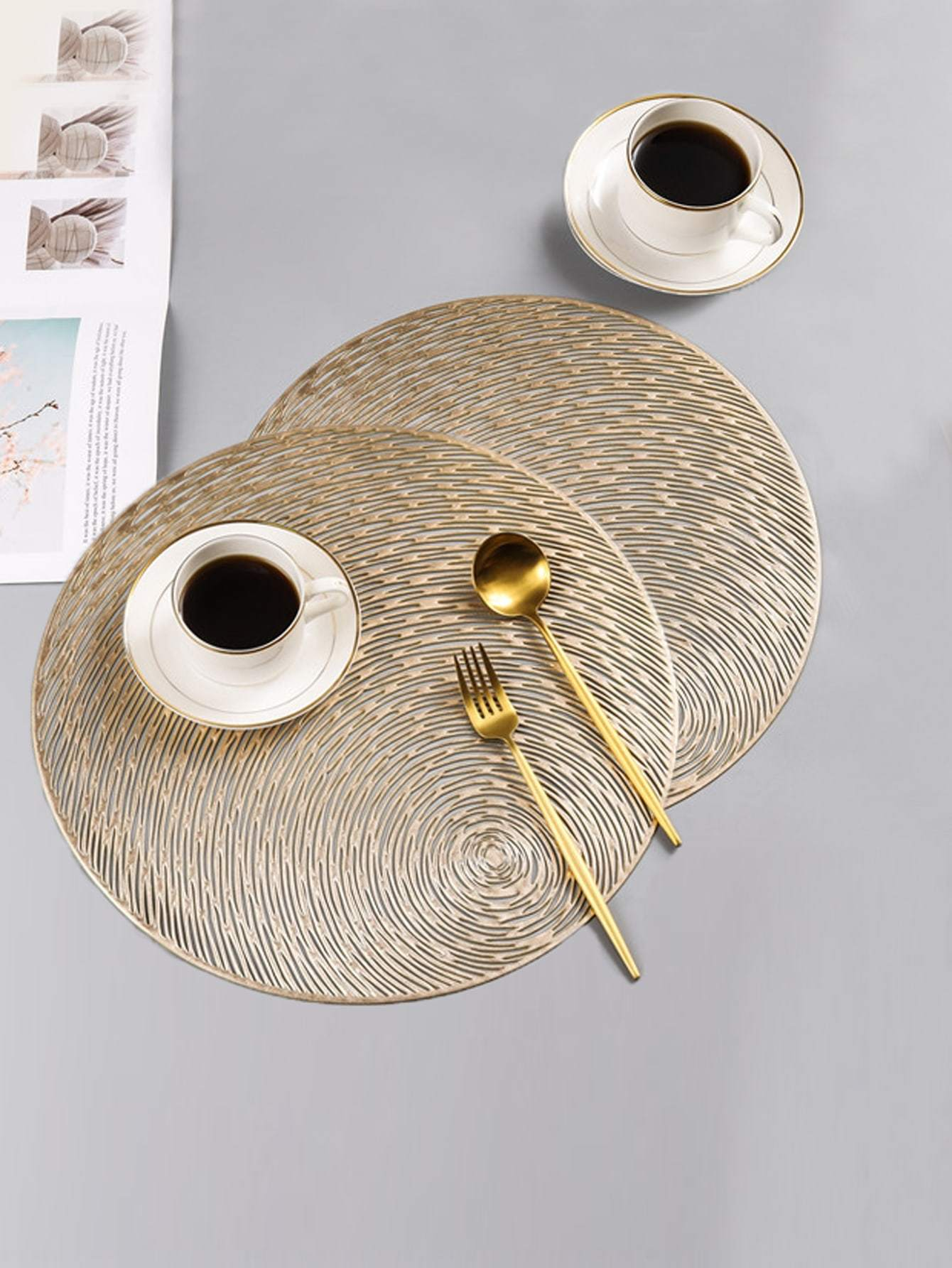 Round Placemat 1pc