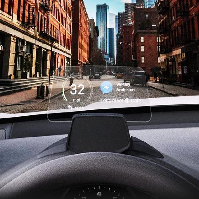 HUDWAY DRIVE -THE BEST HEAD-UP DISPLAY FOR ANY CAR