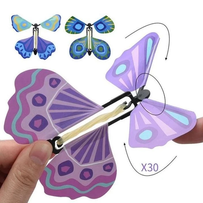 Early Christmas Hot Sale - Magic Butterfly Flying Card Toy(Buy 20 Free Shipping)