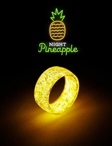 Teamjes™ Luminous Ring- Get Gold Temperature Measuring Ring As A Giveaway