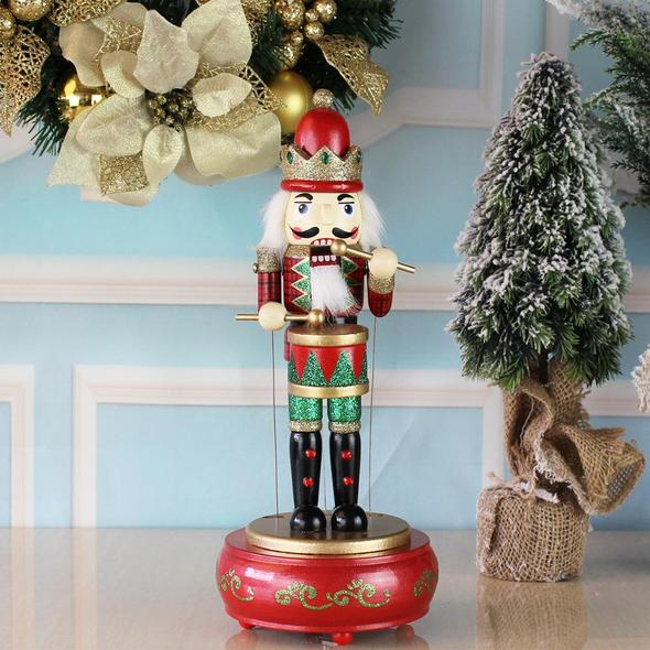🔥Hot Sale🔥Musical Nutcracker with drum