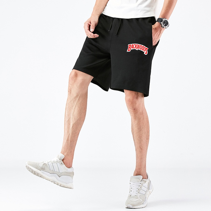 Fashion Summer Men Brand Printed Short Pants Casual Jogging Fit Pants Mens Sports Costume S-4XL