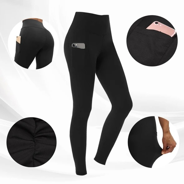 Align High Waist Stretch Tummy Booty Slimming Butt Lift Plus-Size Leggings with Pockets