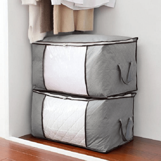 (🎄Early-Christmas Flash Sale🎄-48% OFF)Charcoal Clothes Storage Bag(Buy 3 get 1 free+FREE shipping)