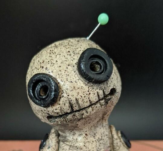 OOAK, Voodoo Doll Cone Burner, Incense Burner