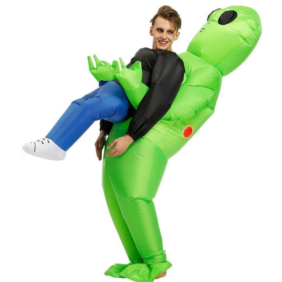 Alien Hold me Inflatable Dress Costume(Adult & Child)