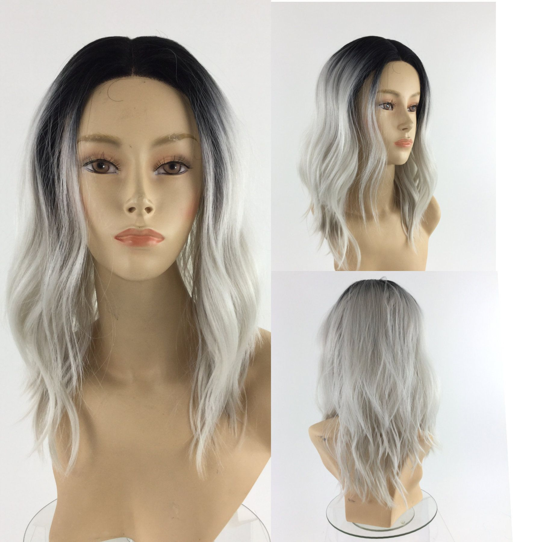 2021 New Lace Front Wigs Violet Wig Incredibles Get Yellow Out Of Gray Hair B12 Gray Hair