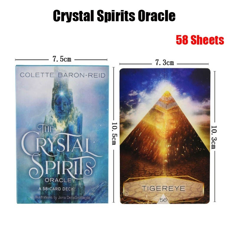 New Oracle Cards Divination 12 Kinds:Spirit Animal Angels and Ancestors Chakra Wisdom Work Your Light Messages From Your Angels Moonology Keepers of the Light Goddess Power Mystical Shaman The Divine Feminine Crystal Spirits Sacred Rebels Oracle Cards