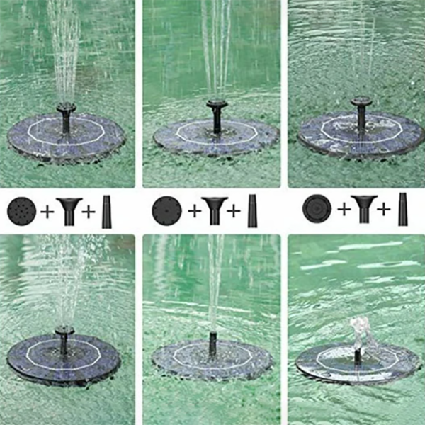 50% Off</br>Solar Powered Bionic Fountain(Buy 2 Free Shipping)