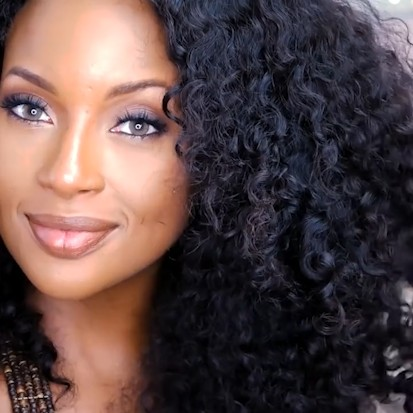 Special OFF   NEW Natural Water Wave Curly Wig