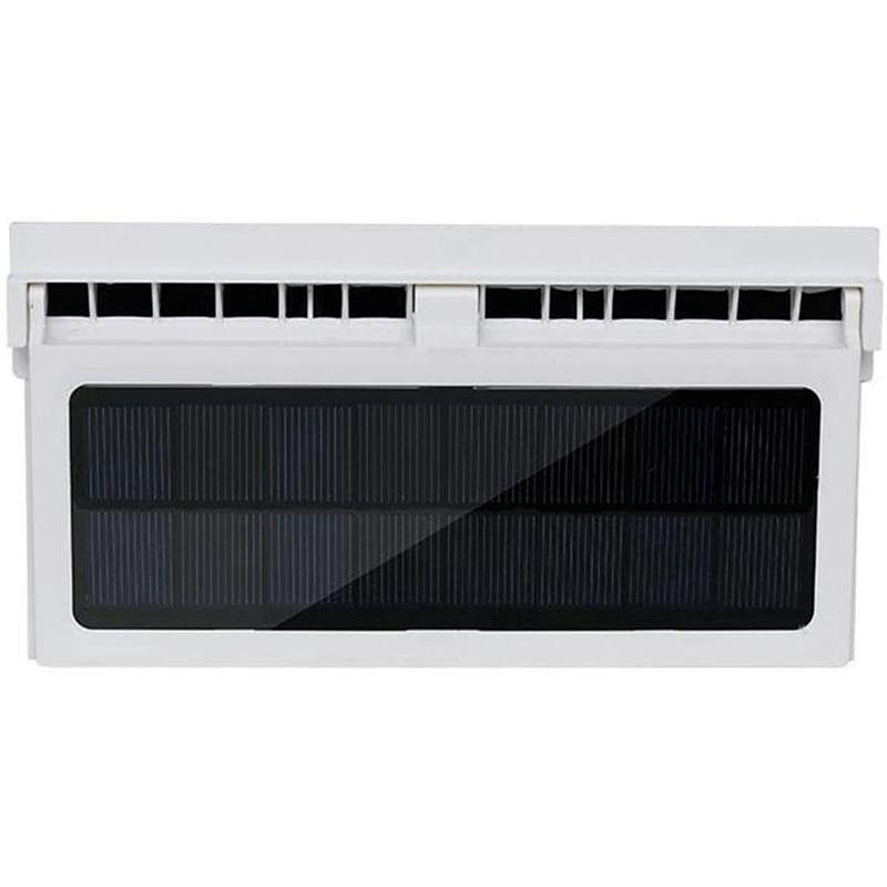 Fineshelf solar powered car fan air vent radiator - manual control 2.4V 3000rmp